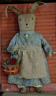 sweet bunny by Meadowbrook Cabin Primitives