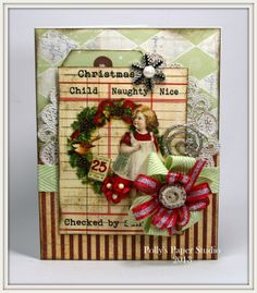 Christmas Card…..Try Try Again | Polly's Paper Studio