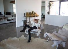 Home, Interior, House, Amanda, Shadforth, Oracle Fox, Wardrobe, Oracle Fox Closet, Amanda Shadforth Lounge Room, Marble Surfboard, Mirror, Designer Chair