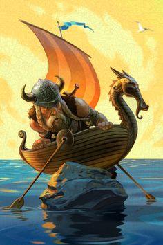 Viking Aground, by Jim Madsen