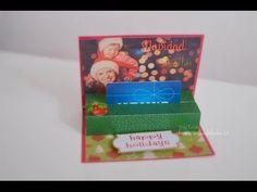 Tarjeta para regalar una Gift Card en esta Navidad