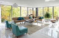 Image result for how to decorate with mid-century modern furniture