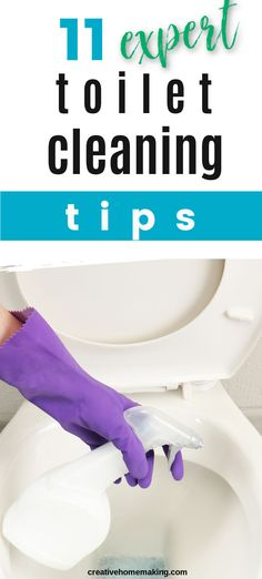 My favorite toilet cleaning tips and hacks for easy bathroom cleaning. #cleaninghacks #cleaningtips #cleaning #cleaningtricks #creativehomemaking Bathroom Cleaning Hacks, Toilet Cleaning, House Cleaning Tips, Sparkling Clean, Simple Bathroom, Canning Recipes, Cleaning Solutions, Homemaking, Clean House