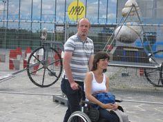 met de rolstoel toch mee op uitstap, zalig!
