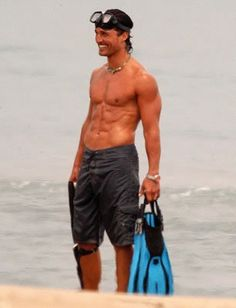 This is the way I like him on the beach
