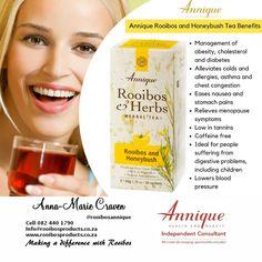Rooibos and honeybush tea
