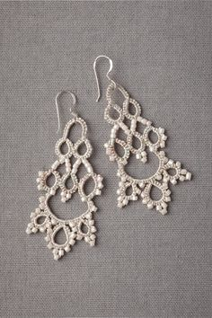 Subtle Infusion Earrings in SHOP Sale at BHLDN- I am so going to make some of these. I don't know how to do the beadwork but I'll figure it out.