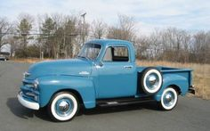 1954 Chevy 3100. Lovely as a truck can get!