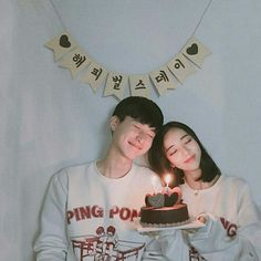 Kpop Couples, Cute Couples, Korean Wedding Photography, Korean Birthday, Boy And Girl Best Friends, Anniversary Pictures, Twin Birthday, Korean Couple, Ulzzang Couple