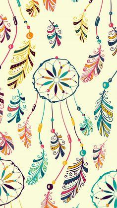 Dream catchers Dreamcatcher Wallpaper, Feather Wallpaper, Flower Wallpaper, Screen Wallpaper, Pattern Wallpaper, Dreamcatcher Background, Dream Catcher Wallpaper Iphone, Iphone Wallpaper, Colorful Wallpaper