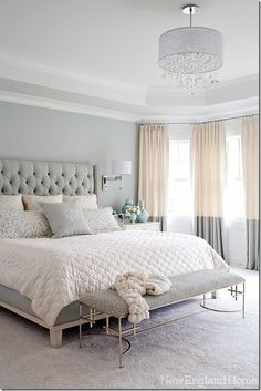 love the headboard and monogrammed pillow