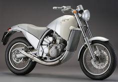 Aprilia MOTO 6.5, a creation of designer Philippe Starck in 1996.