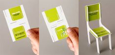 14.folded business cards