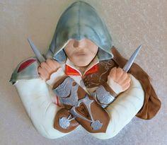 Ezio Assassin's Creed II Cake