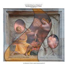 """Gedeone e l'angelo"" / ""Gideon and the angel"" by Massimo Petrini"