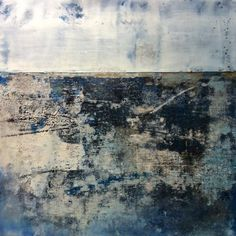 daltonprojects:  Lapis, 12x12 m/m encaustic #encaustic #daltonprojects #abstract #contemporary #art #painting