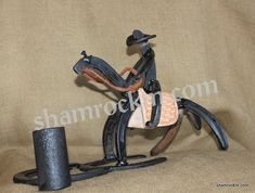 Horse Shoe Art Barrel Racer-Horse Shoe Art Barrel Racer