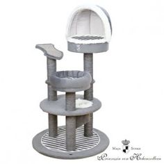 Rascador Para Gatos Poste Cat Prince Gris Y Blanco Trixie Cat Activity, Cat Towers, Cat Condo, Pet Furniture, Cat Supplies, Animal House, Prince, Pet Toys, Pet Care