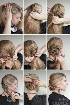 Elegantes Peinados, Peinados Nice, Idea Peinados, Trenzas Peinados, Peinados Paso, Peinados Boda, Vestidos, Estilo, Belleza