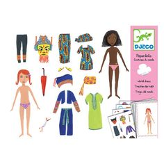 Paper Dolls - Costumes of the World