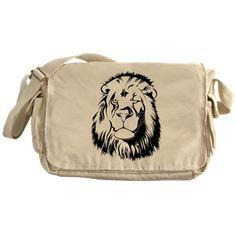 #Lionhead #Tribiales #Messenger #Bag > Lion 002 / #Löwe 002 > #pASob-dESIGN http://www.cafepress.com/pasobdesign.912792069