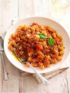 Fusilli with Tuna (Fusilli al Tonno)  #pasta #tuna #recipe #cirio #tomato