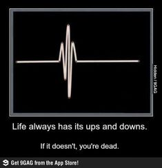 Life has its ups and downs..