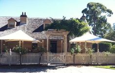 The historic cottage ROCKEND at Gladesville is a beautiful sandstone building which was built in the 1830s. The cottage was also where A.B. 'Banjo' Paterson came to live with his grandmother in 1874 to further his studies at Sydney Grammer School in the city.  The cottage is now converted to Banjo Paterson Cottage Restaurant where you can enjoy fine dining with fantastic water views.