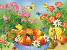 'just peachy' by Jane Maday (12 pieces)