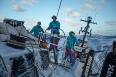 Leg 4, Melbourne to Hong Kong, day 14. Onboard Azkonobel in the South Pacific near Challenger Deep. - photo © Sam Greenfield / Volvo Ocean Race