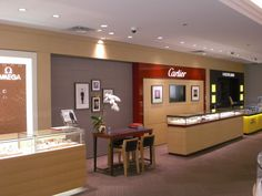 """Albert's Jewelers - Manufacture & Design of Store Fixtures by Artco Group. """"The only way to do great work is to love what you do"""" #retaildesign #storedesign #retail #jewelers"""
