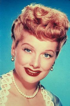 """Lucille Ball on the set of """"I Love Lucy"""" with the Mayer twins, who played little Ricky. Description from pinterest.com. I searched for this on bing.com/images"""