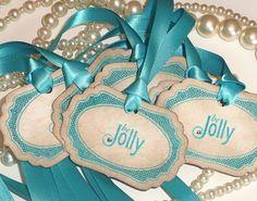 blue ribbon tags