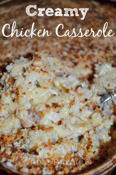 Creamy #Chicken #Casserole #recipe -