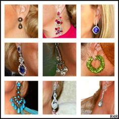 Queen Maxima's ear rings