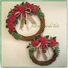 Ghirlande di Natale , by fattoamanodaTati
