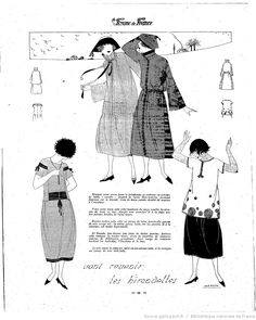 Les Modes de la femme de France | 1921-02-27 | Gallica