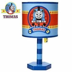 Cal lighting choo choo train youth table lamp kid blue and and thomas the tank engine lamp thomas the tank engine bedroom lamp used but no mozeypictures Images