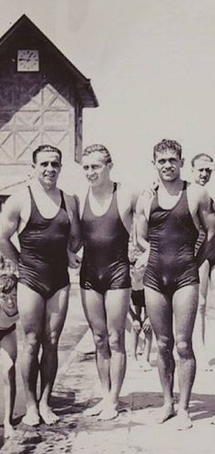 Beach swimmers - 1930's