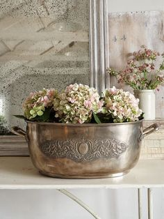 Silver containers beautiful