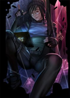 *Check Nxt in the Origin Page* Rainbow Six Siege Anime, Rainbow 6 Seige, Rainbow Six Siege Memes, Tom Clancy's Rainbow Six, Rainbow Art, Anime Girl Neko, Thicc Anime, Anime Art Girl, Anime Comics