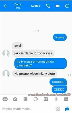 Funny Sms, Funny Text Messages, Wtf Funny, Stupid Funny, Funny Texts, Polish Memes, Funny Conversations, School Memes, Funny Clips