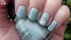 Check Out Cute Flower Nail Art Designs. Flower nail art is definitely something you need should master. Pastel Nail Art, Cute Nail Art, Easy Nail Art, Cute Nails, Nail Art Flowers Designs, Best Nail Art Designs, Simple Nail Designs, Flower Designs, French Nails