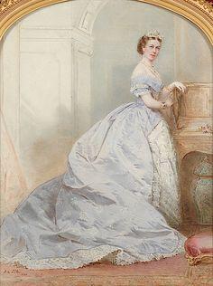 Princess Marie of Hanover, 1868, F.A. Tile Ravishing!