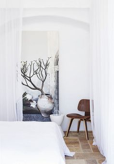 a stylish summer house on mykonos by the style files, via Flickr