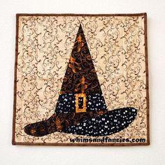 Halloween Witch Hat - Paper Piecing | Craftsy