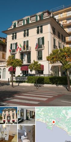 O hotel localiza-se no centro de Rapallo, uma belíssima aldeia na Riviera de Ligúria, próximo de Portofino, Génova e Cinque Terre. Fica próximo de campos de golfe, de um clube de ténis, do ancoradouro para barcos e ferries e do porto turístico, de um centro de mergulho e de vários estabelecimentos balneares. Esta localização é ideal tanto para umas férias desportivas como para uma estada descontraída. O hotel localiza-se directamente junto ao Lido e a estação de comboios de Rapallo fica a…