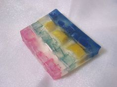Stained Glass Glycerin Soap $4.75