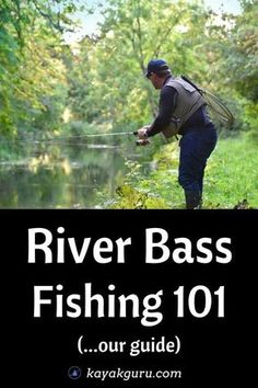 Guide To River Bass Fishing (inc Tips)-Guide To River Bass Fishing (inc Tips) . Guide To River Bass Fishing (inc Tips)-Guide To River Bass Fishing (inc Tips) How Do We Find Bass? Types Of Bass Wh Kayak Fishing Tips, Bass Fishing Tips, Sport Fishing, Best Fishing, Fly Fishing, Fishing Stuff, Fishing Knots, Fishing Lures, Fishing Tricks