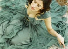 Dream dress, smokey turquoise?